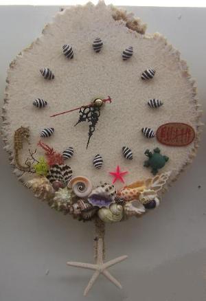 贝壳粘贴画设计方案